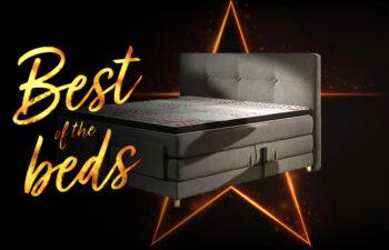 """Łóżko kontynentalne Mario Electric 180×200 w promocji """"best of the beds"""""""