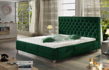 Łóżko tapicerowane Chester 200×200