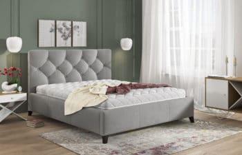 Łóżko tapicerowane Kasandra 100×200