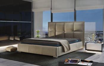 Łóżko tapicerowane Celesta 100×200