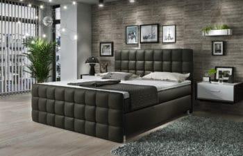 Łóżko kontynentalne Imperia 160×200 Hard Top 9 cm