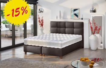 Łóżko kontynentalne Isabel 180×200