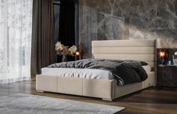Łóżko tapicerowane Sylvi 140×200