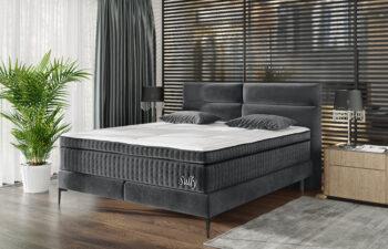 Łóżko kontynentalne Sully 160×200 cm