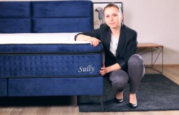 Łóżko kontynentalne Sully